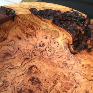 Oak Burl Centerpiece