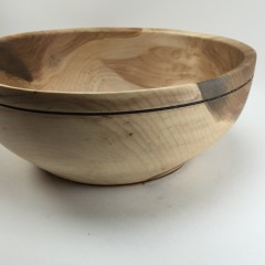 Maple Burl Display Bowl