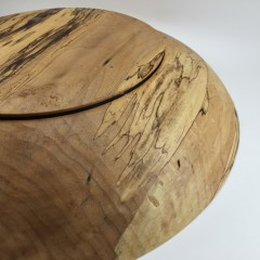 Spalted Cottonwood Salad Bowl
