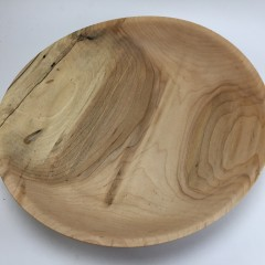 Thin-Walled Cottonwood Bowl