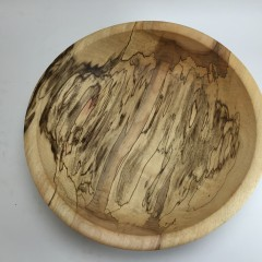 Awesome Spalted Cottonwood Bowl