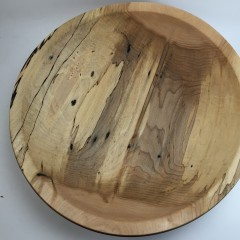Spalted Cottonwood Salad Bowl #2